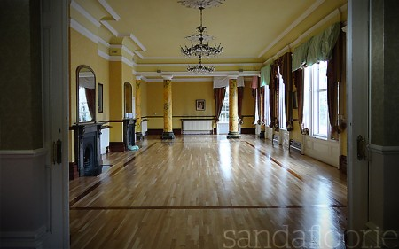 Ballroom Floor After