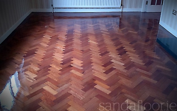 Herringbone Floor Clontarf After