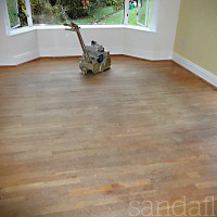 Oak Floor Sanding - Templeogue, Dublin