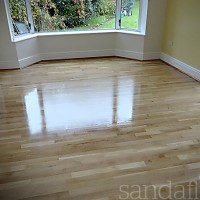 Oak Floor Varnished - Templeogue, Dublin