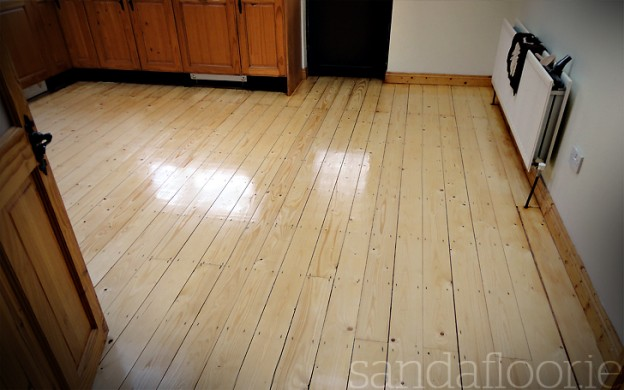 Pine Floor Varnished - Celbridge, Kildare