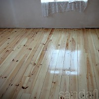 Pine Floor Varnished - Foxrock, Dublin
